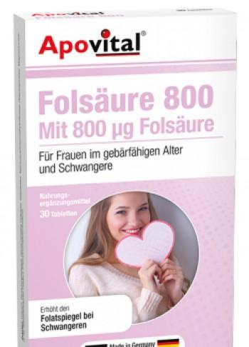 apovital folic acid