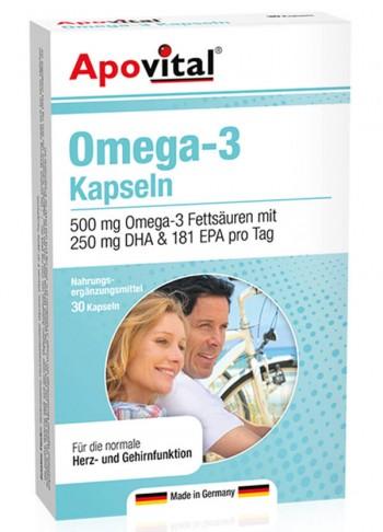 Apovital-Omega-3-Kapseln